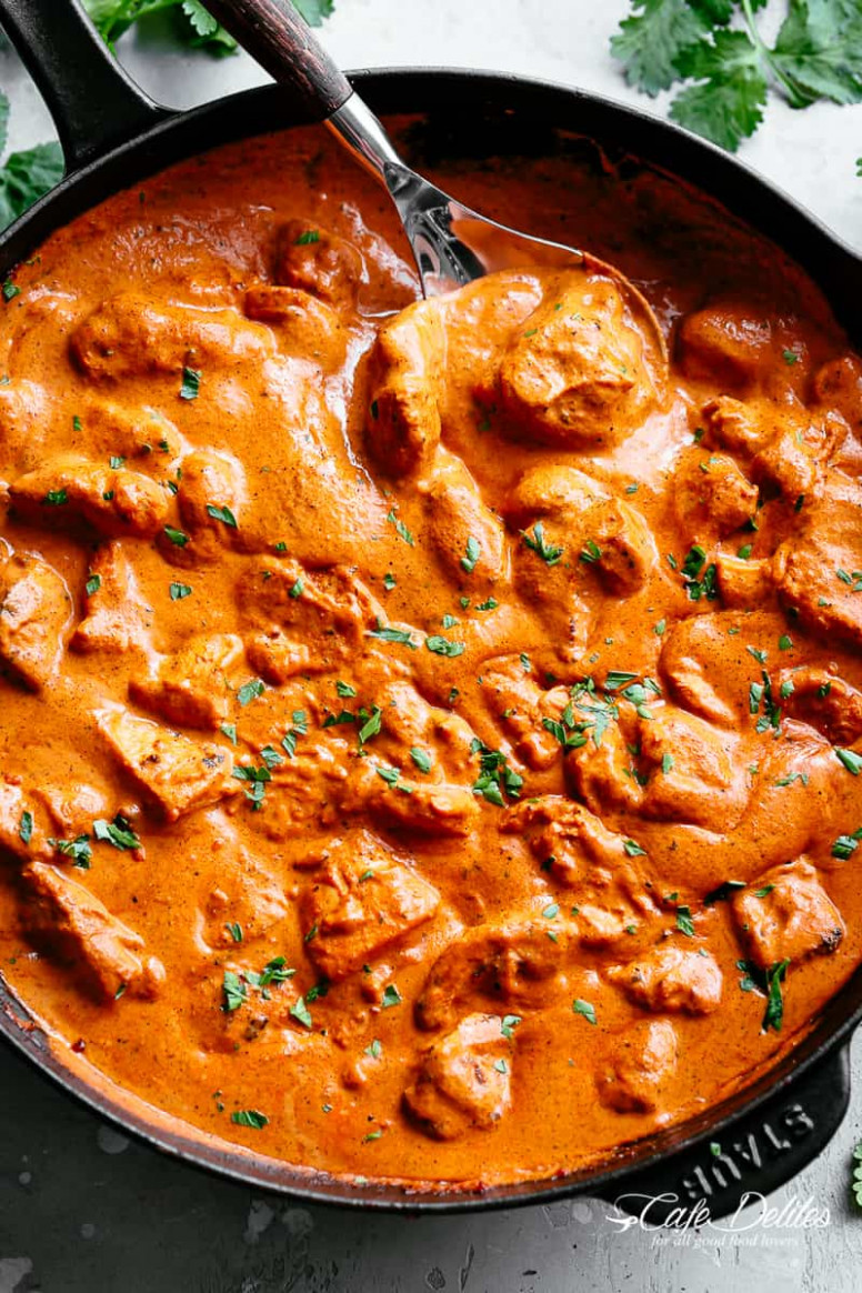 Butter Chicken (Murgh Makhani) - Cafe Delites - Indian Curry Recipes Chicken