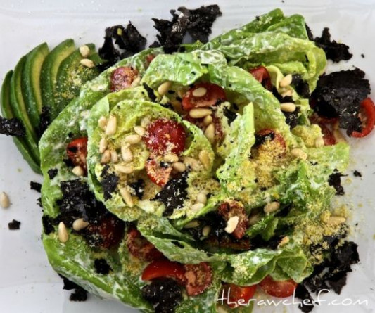Butter Lettuce Salad - This is a filling and simple salad ..