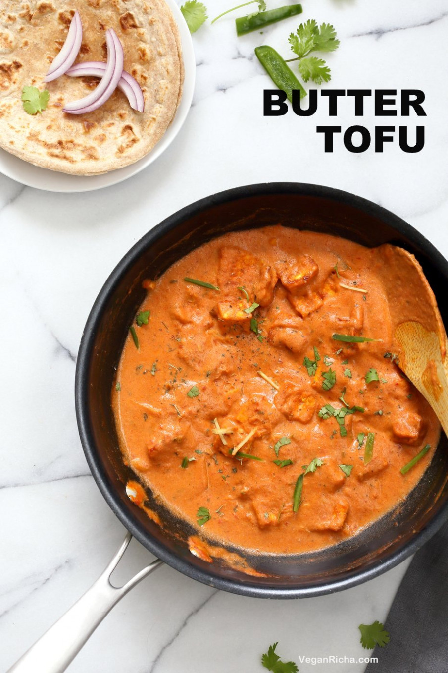 Butter Tofu Paneer - Restaurant Style Tofu Butter Masala Recipe - opos recipes vegetarian