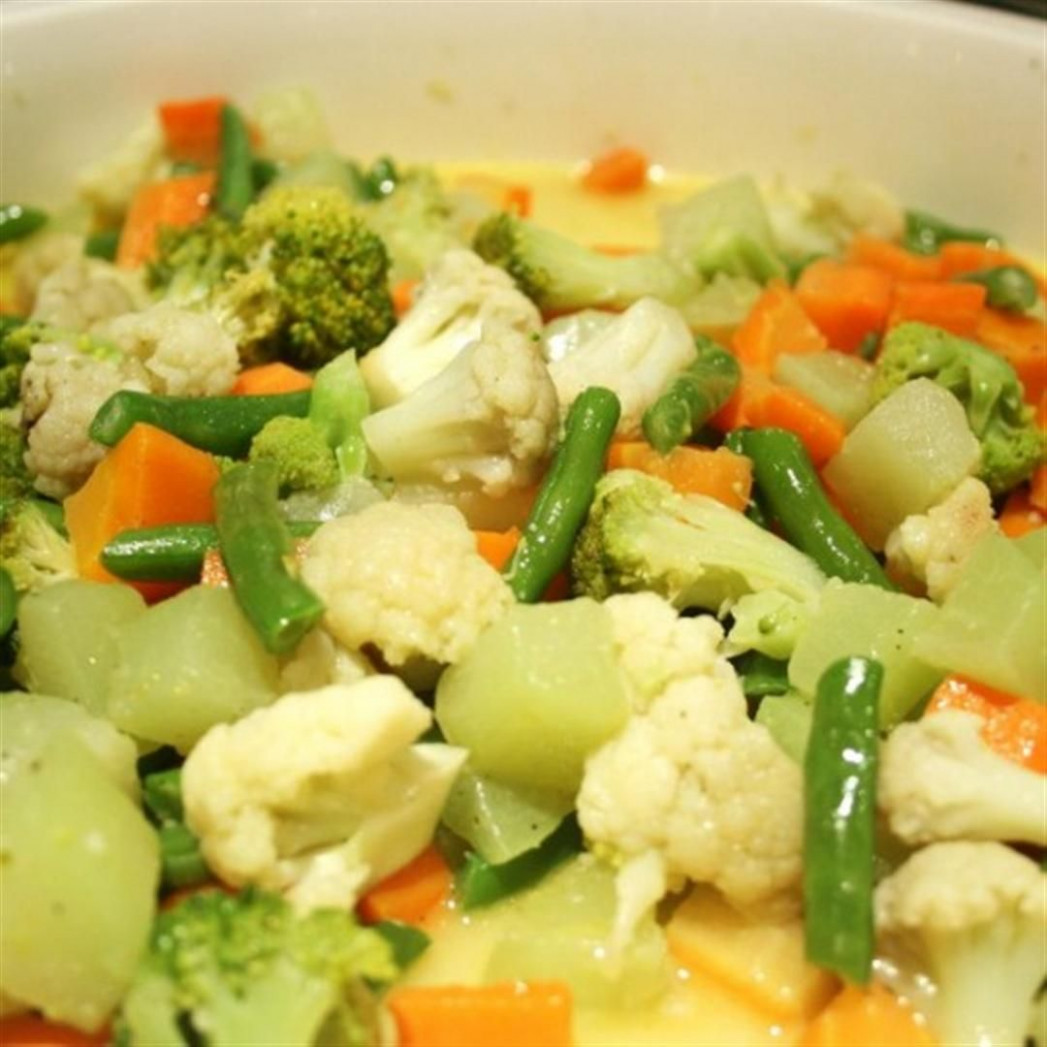 Buttered Vegetables - chicken recipes panlasang pinoy