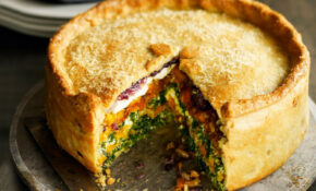 Butternut Squash, Spinach And Goat's Cheese Pie | Healthy ..
