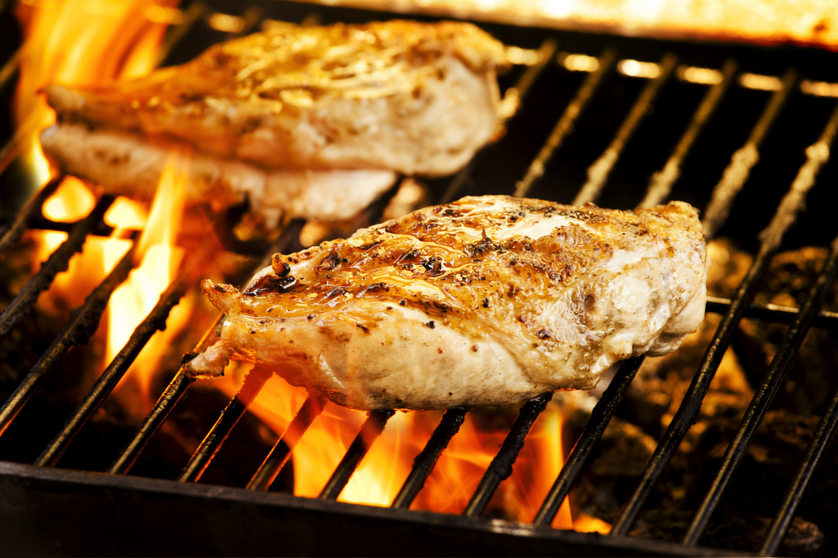 Buttery Garlic Grilled Chicken Breast Recipe - bbq recipes chicken