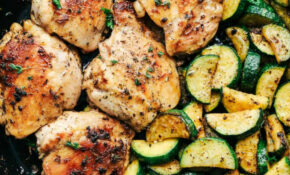 Buttery Garlic Herb Chicken With Zucchini | The Recipe Critic – Healthy Chicken And Zucchini Recipes