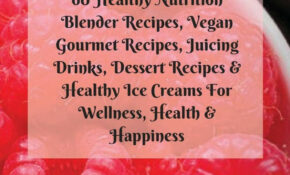 Buy Fitness Cookbook: 10 Healthy Nutrition Blender Recipes ..