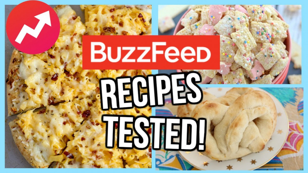 Buzzfeed Food Recipes TESTED! - food recipes buzzfeed