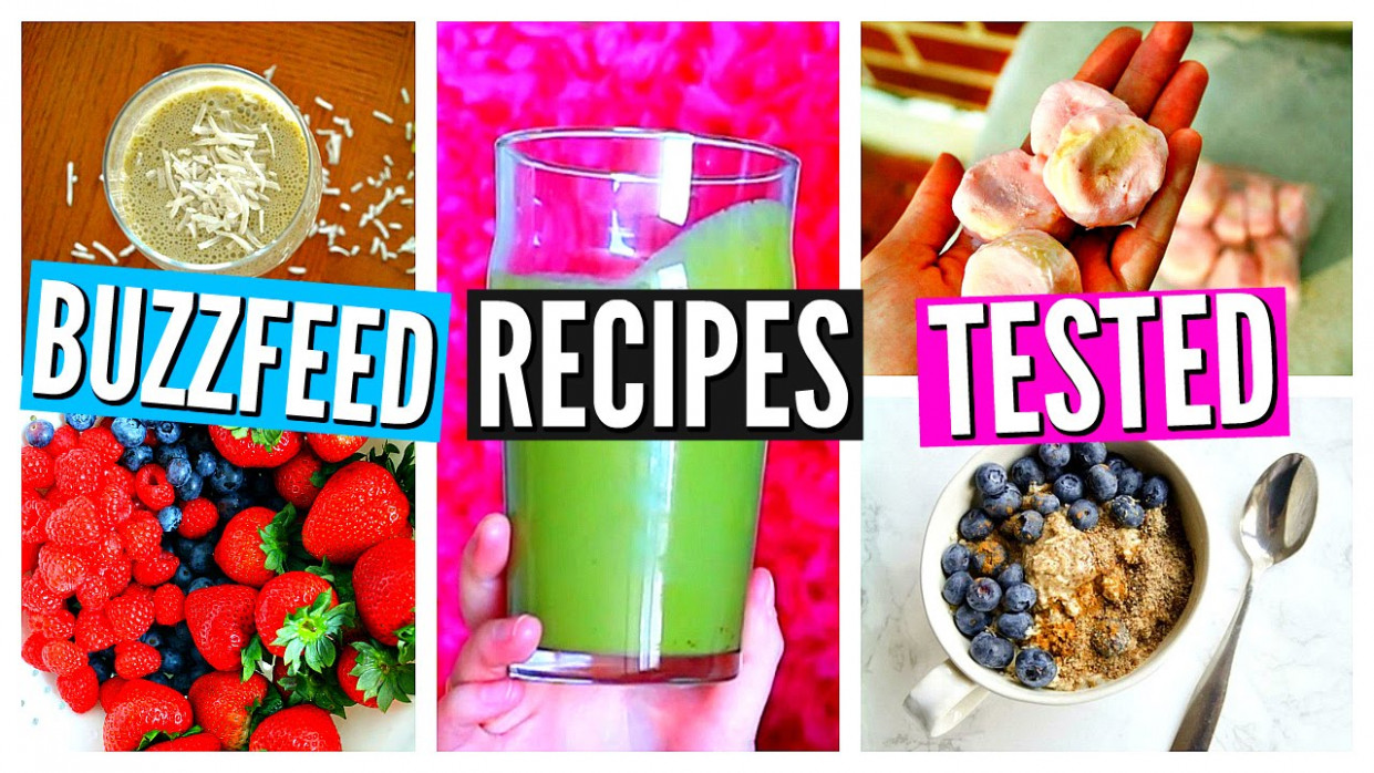 BUZZFEED FOOD RECIPES TESTED: Healthy Breakfast Ideas ..