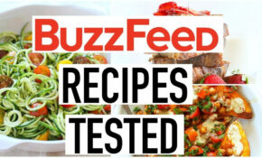 BUZZFEED RECIPES TESTED! Healthy Recipes Taste Test ...
