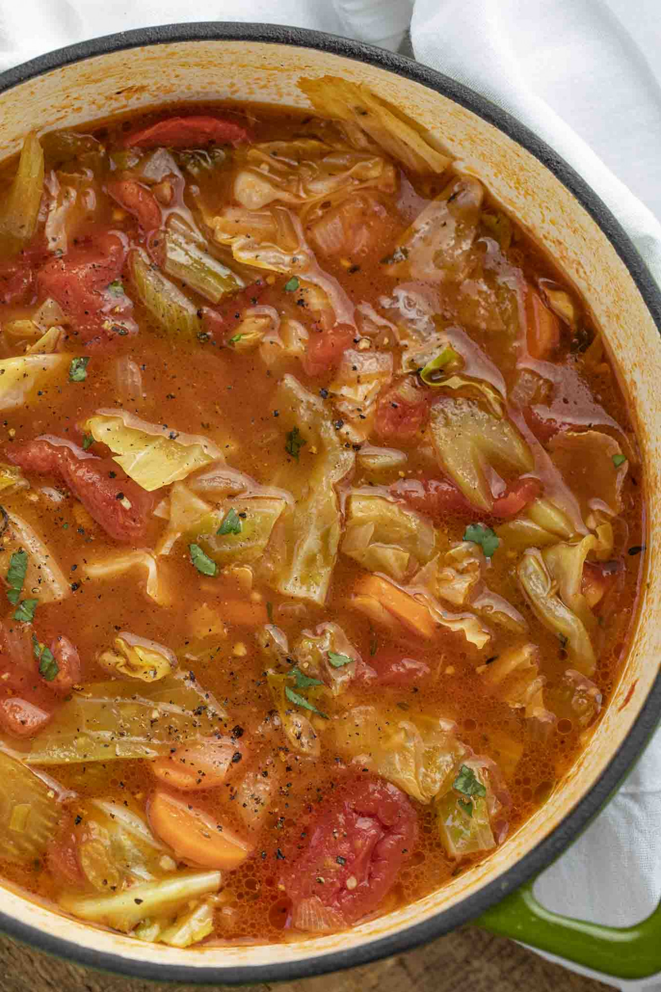 Cabbage Soup - Dinner, then Dessert - dinner at the zoo recipes
