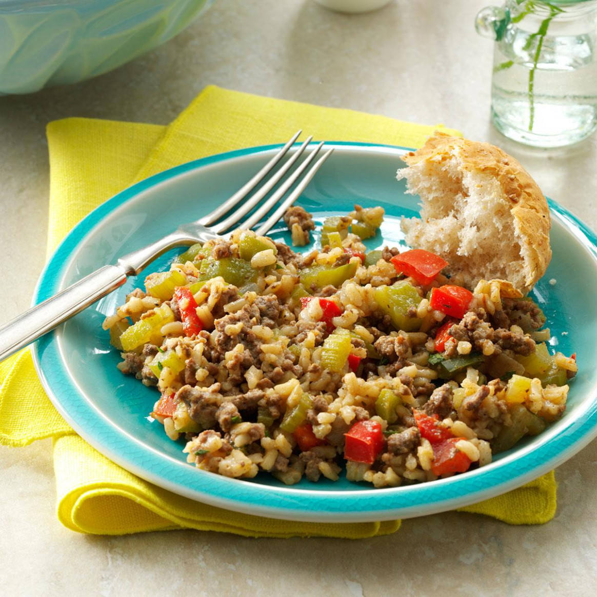 Cajun Beef & Rice - recipes for ground beef healthy