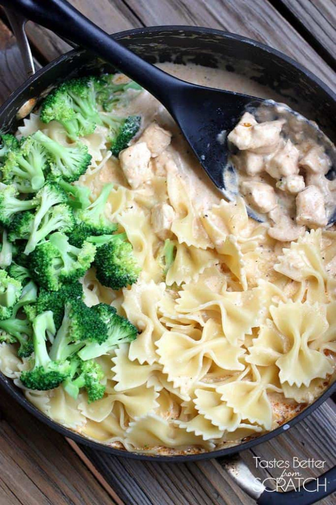 Cajun Chicken Alfredo Pasta - Tastes Better From Scratch