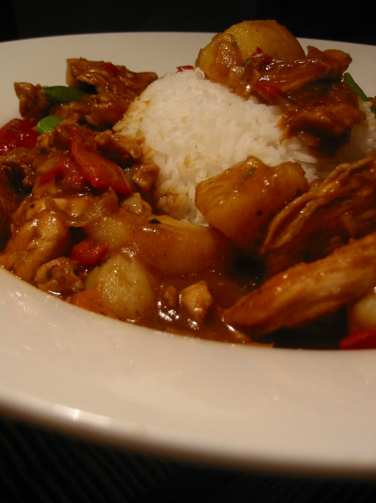 Cajun Chicken Curry - recipes of chicken curry