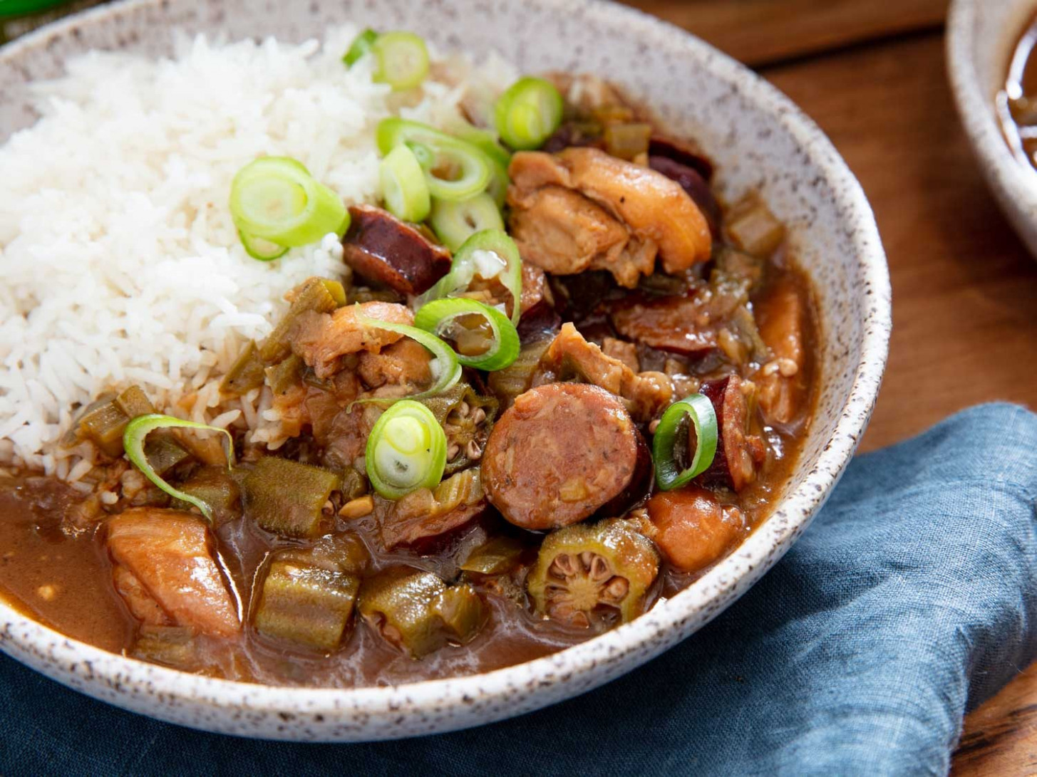 Cajun Gumbo With Chicken and Andouille Sausage Recipe - recipes gumbo chicken sausage