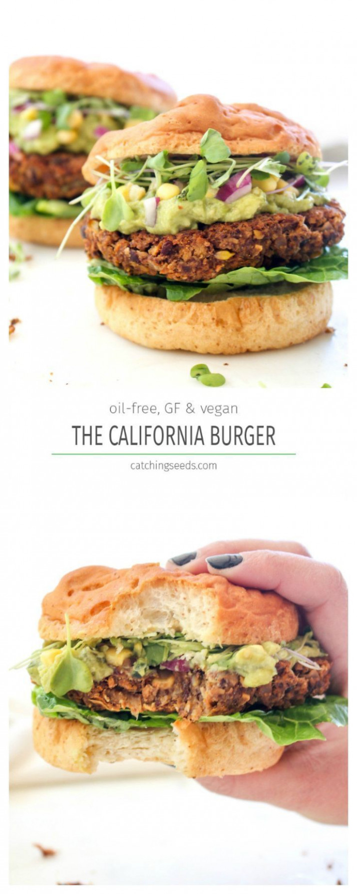 California Burger | Recipe | veggie burgers | Vegan ..