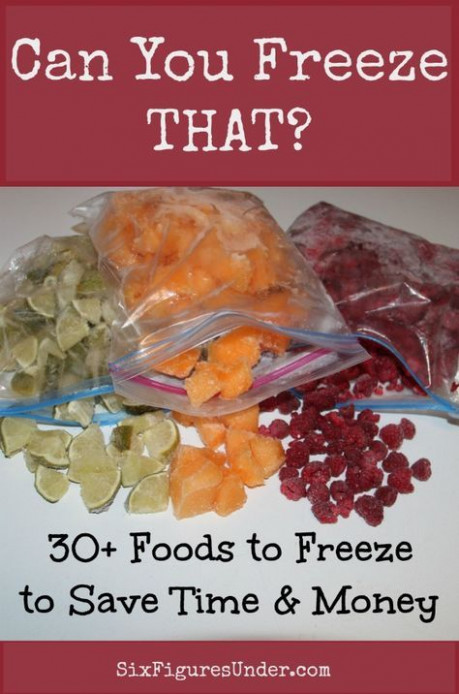 Can You Freeze THAT | Freezer Cooking Meals | Pinterest ..