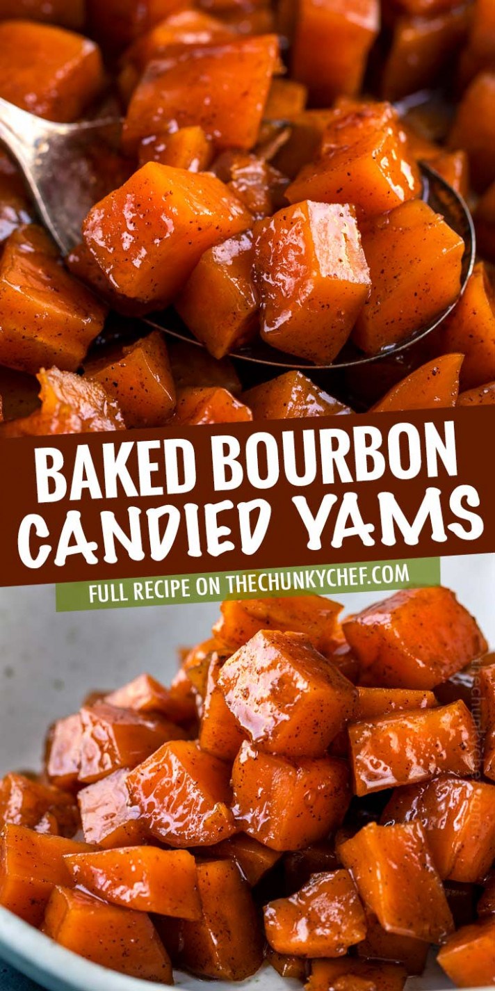 Candied Yams with Bourbon - yam recipes dinner