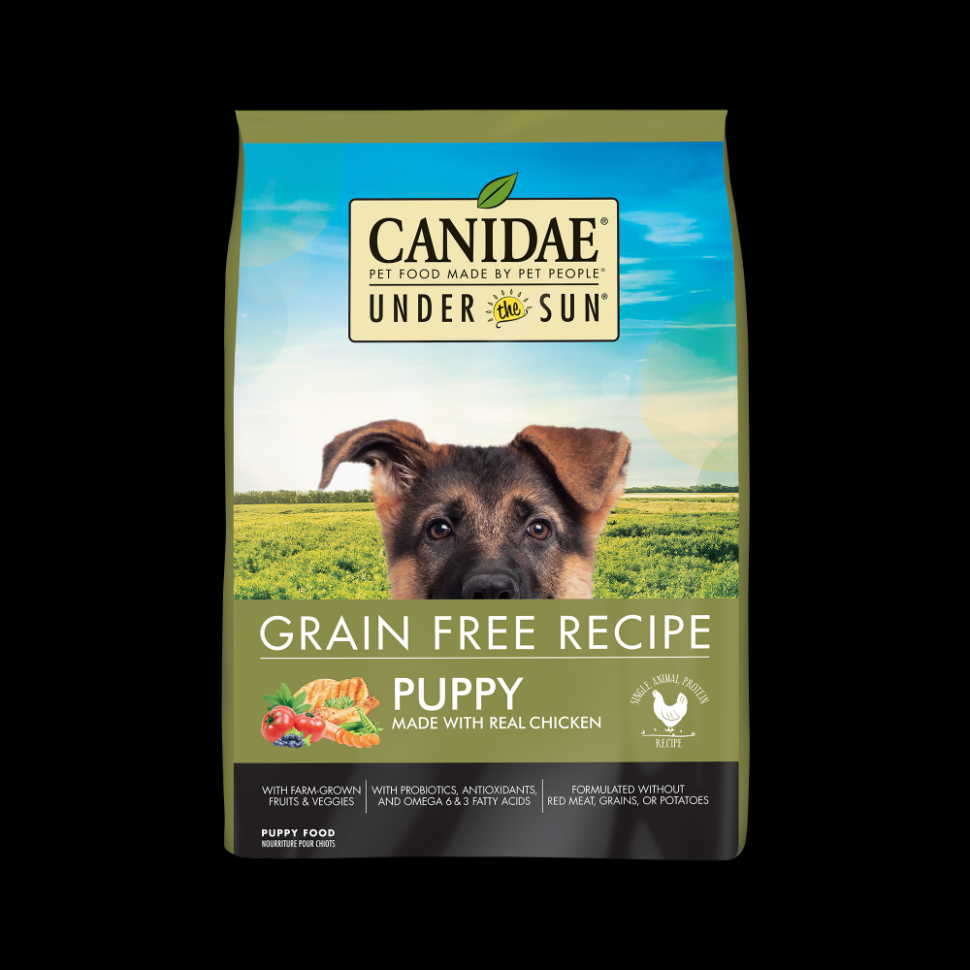 Canidae Under the Sun Puppy Grain Free Chicken Recipe Dry Dog Food - puppy food recipes