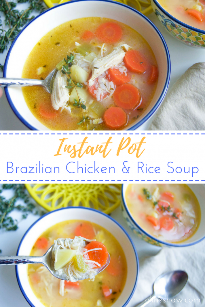 Canja de Galinha | Brazilian Chicken Soup - recipes brazilian food