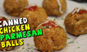 Canned CHICKEN Parmesan Balls Recipe – Recipes Made With Canned Chicken
