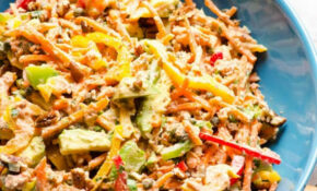 Canned Salmon Salad - iFOODreal - Healthy Family Recipes