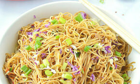 Cantonese Style Veg Noodles, How To Cook Cantonese Style ..