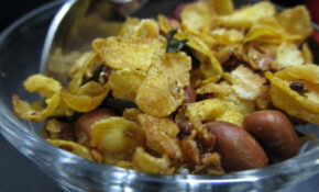 Caramelised Cornflakes Namkeen – Foodeez Junction – Food Junction Recipes