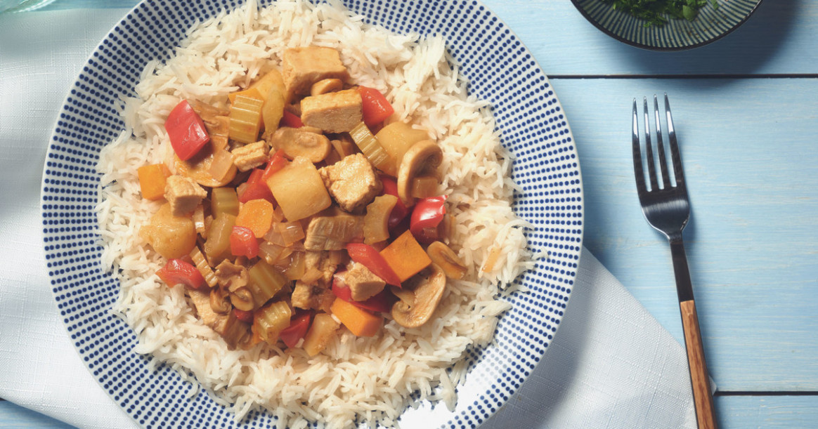 Carribean Meatless Chicken Stew Recipe | Quorn US - quorn recipes chicken pieces