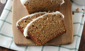 Carrot Cake Quick Bread With Cream Cheese Frosting – Food Recipes Quick Breads