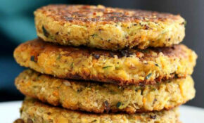 Carrot Zucchini Chickpea Fritters Vegan Recipe – Recipes Menu Vegetarian