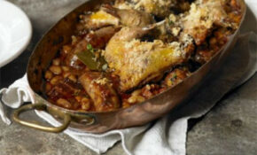 Cassoulet Of Bacon & Toulouse Sausage With Confit Pheasant ..