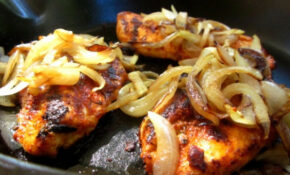 Cast Iron Skillet Cajun Chicken Recipe - Genius Kitchen