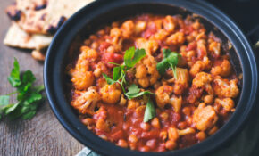 Cauliflower And Chickpea Tagine [Vegan, Gluten Free] – Recipes Vegetarian Tagine