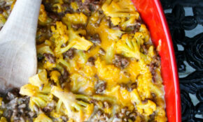 Cauliflower Cheeseburger Casserole – Healthy Recipes Keto Cheeseburger Casserole