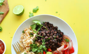 Cauliflower Rice Burrito Bowl – Recipes Vegetarian Bowls