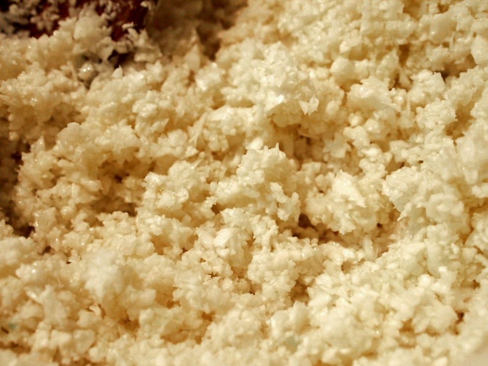 Cauliflower Risotto (05) - recipes with vegetarian mince