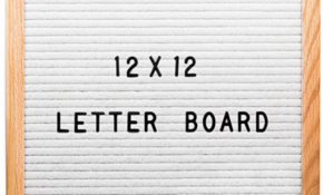 Changeable Letter Board – A Thrifty Mom – Recipes, Crafts ..