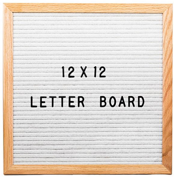 Changeable Letter Board - A Thrifty Mom - Recipes, Crafts ..