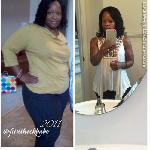 Chantel lost 69 pounds | Black Weight Loss Success