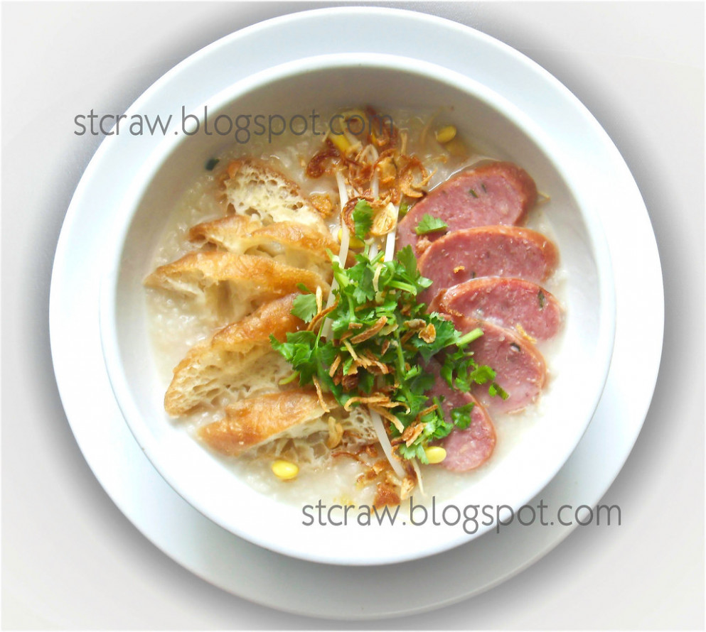 Chao Long Heo- Vietnamese Congee - recipes healthy