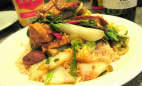 Charlie Deal's Jujube Kung Pao Chicken – Recipes Vegetarian Chinese
