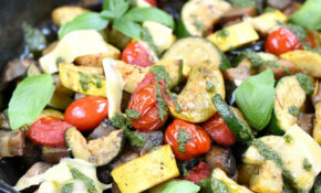 Charred Summer Vegetables – Summer Recipes Vegetarian
