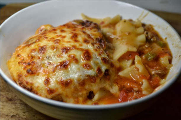 Cheap And Easy Recipes: Lasagna Chili Dinner (Feed 4 For ..