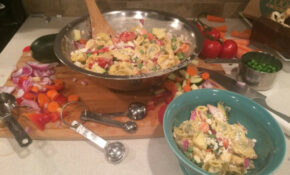Cheap And Easy Recipes: Vegetarian Pasta Salad – The ..