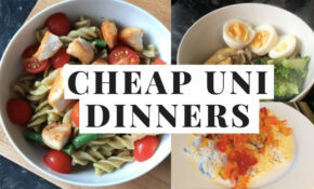 CHEAP / EASY / HEALTHY UNI DINNERS – STUDENT FOOD HACKS – Recipes Easy Cheap Dinner
