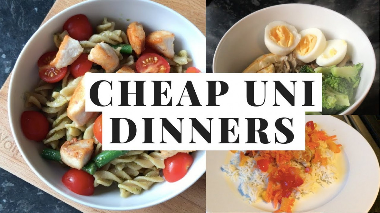 CHEAP / EASY / HEALTHY UNI DINNERS - STUDENT FOOD HACKS - recipes easy cheap dinner