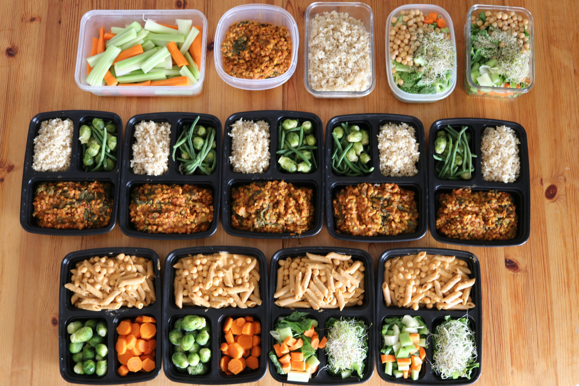 Cheap Easy Vegan Meal Prep for Back to School! (September ..