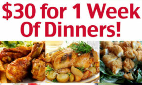 Cheap Family Dinner Ideas – $144 For 14 Week Of Dinners ..