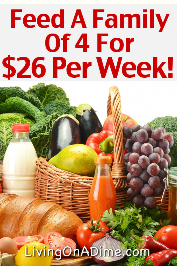 Cheap Healthy Family Meal Ideas – Feed A Family Of 12 For $12 ..