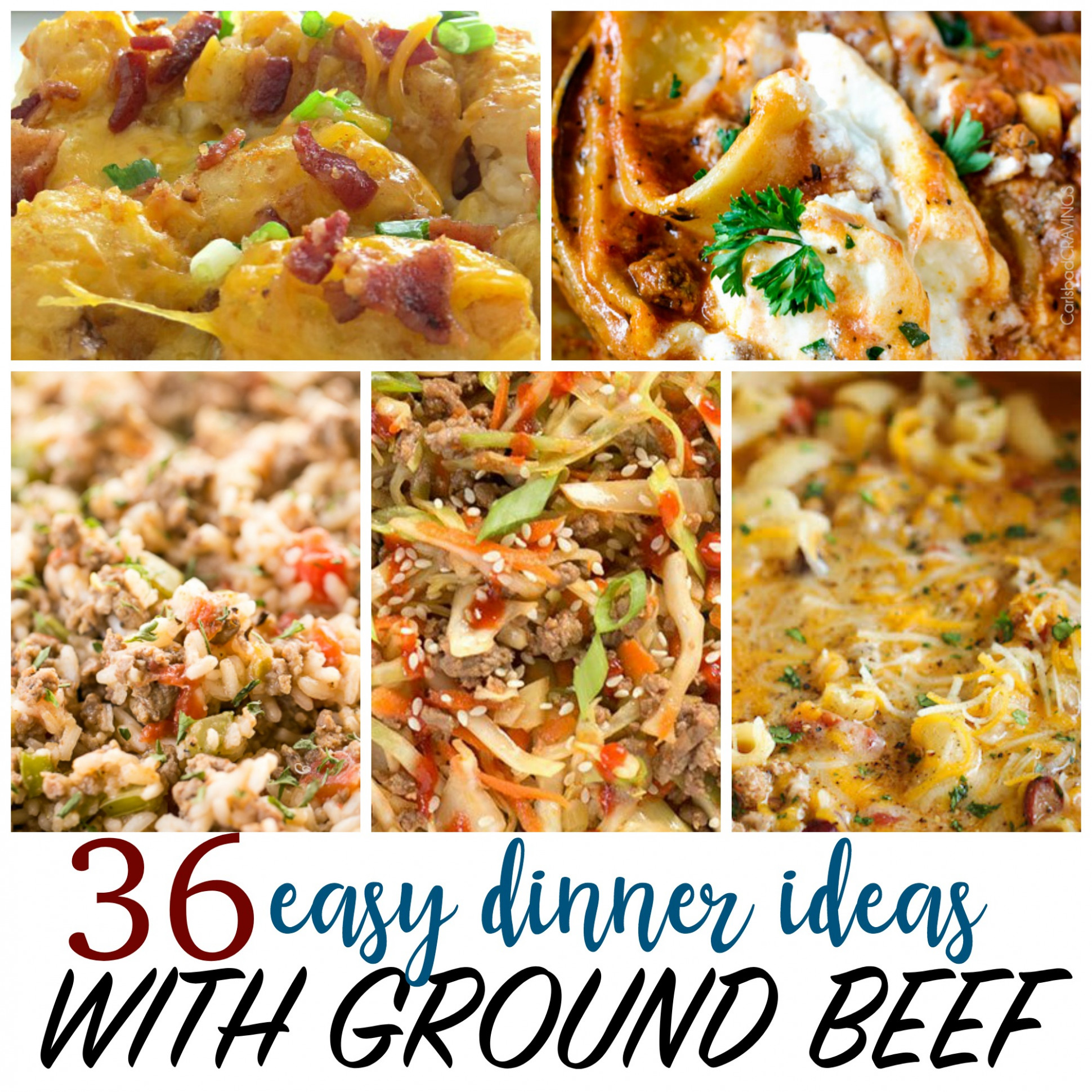 Cheap Recipes - 14 Things To Make With Ground Beef - Recipes Dinner Ground Beef