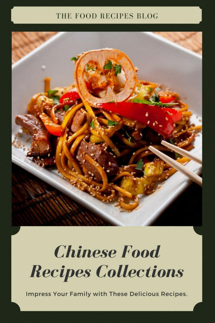 Check Out Local And Unique Chinese Food Recipes Albums For ..