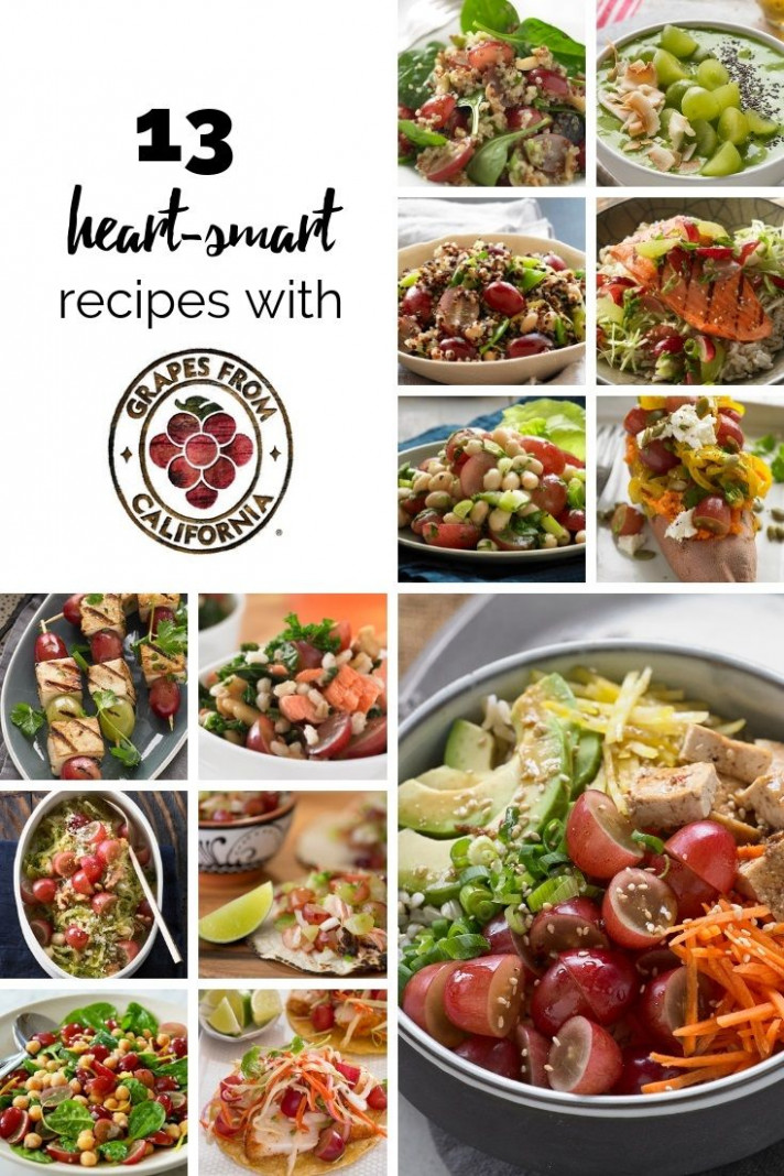 Check out these 12 heart-smart recipes featuring heart ..